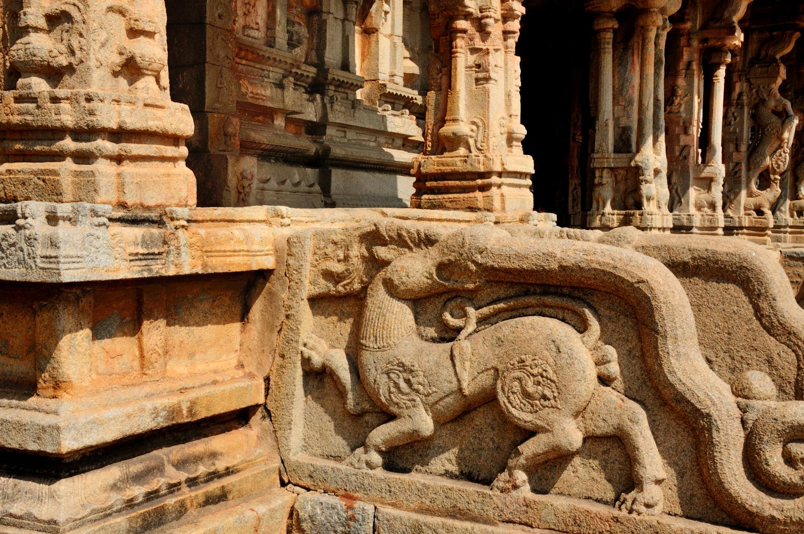 Eingang zum Vitthala Tempel