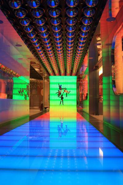 Eingang zur Beatles-Show in Las Vegas
