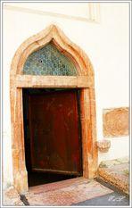Eingang zur Peterskapelle aus dem 15.Jhdt.