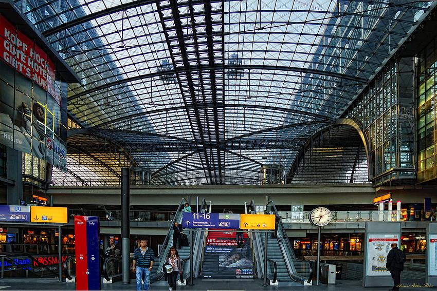 Eingangebene im Berliner Hbf