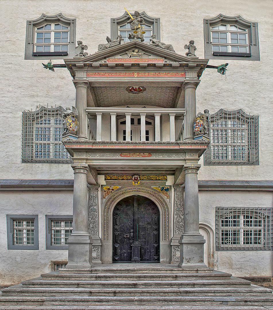 Eingangsportal - Altes Rathaus
