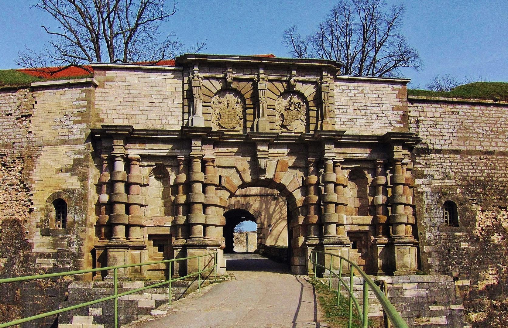 Eingangsportal der Wülzburg