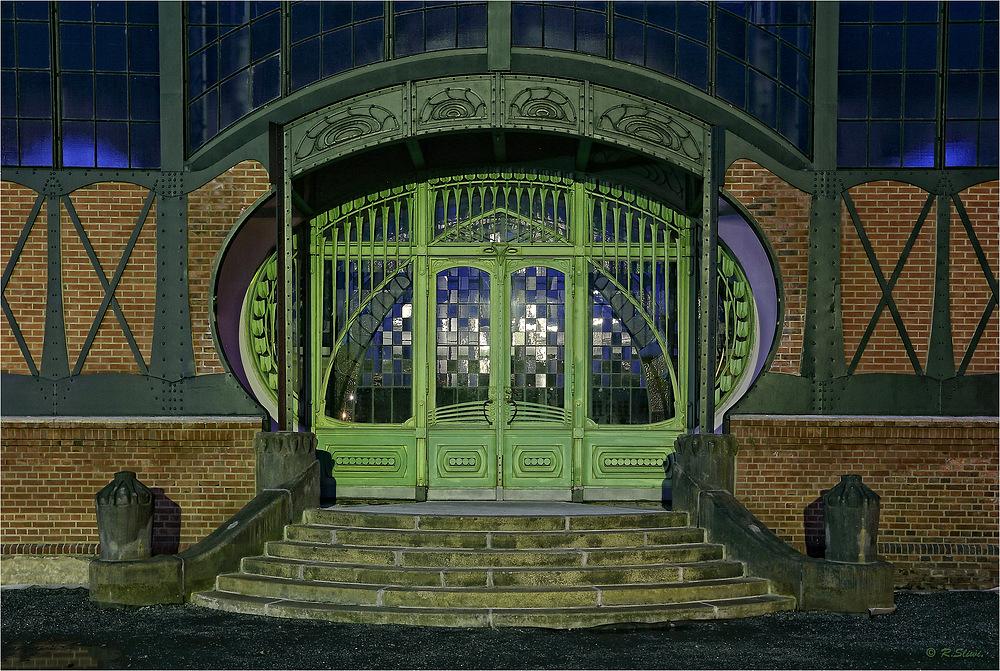 Eingangsportal Maschinenhalle