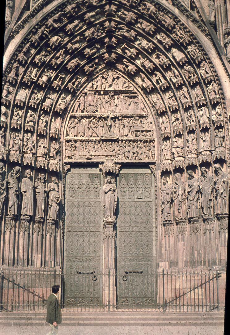 Eingangstor Strasbourger Katedrale