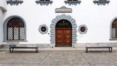 Eingangstor zum St. Galler Stadthaus