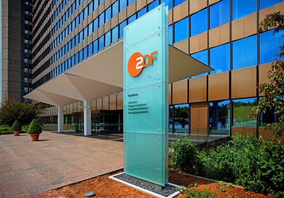 Eingang....ZDF Verwaltung...