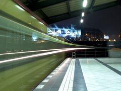 Eingefahrener Zug nach Spindlersfeld