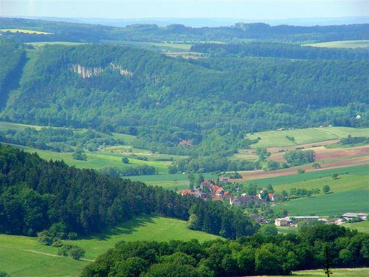 Eingefallener Berg bei Themar, Lengfeld
