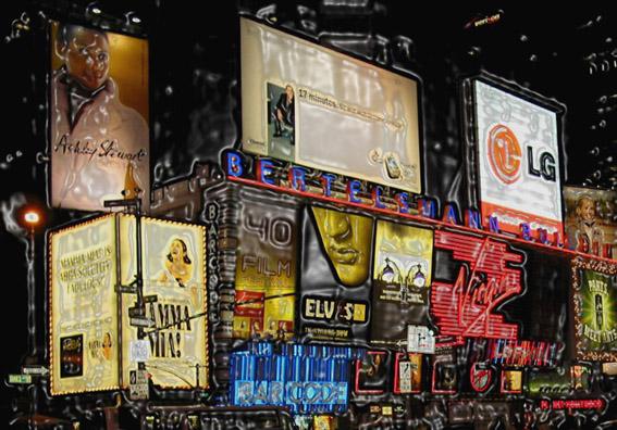 """Eingefrorene Impressionen"" Times Square New York"
