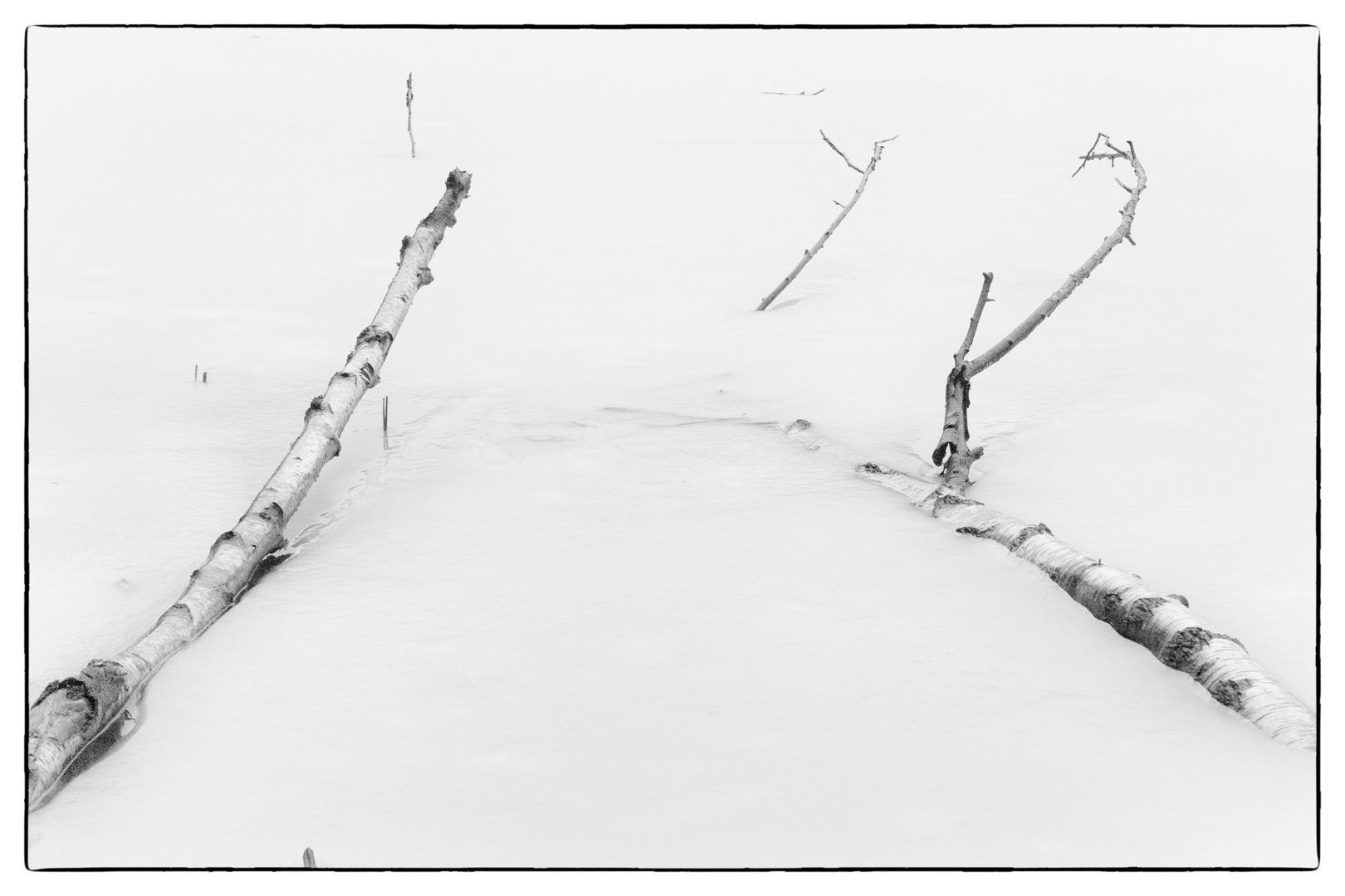 eingefrorene Stille