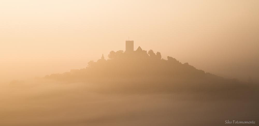 eingehüllt im Nebel