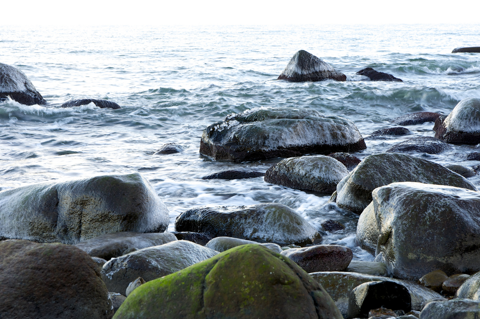 Eingehüllte Steine