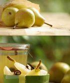 Eingelegte Birnen