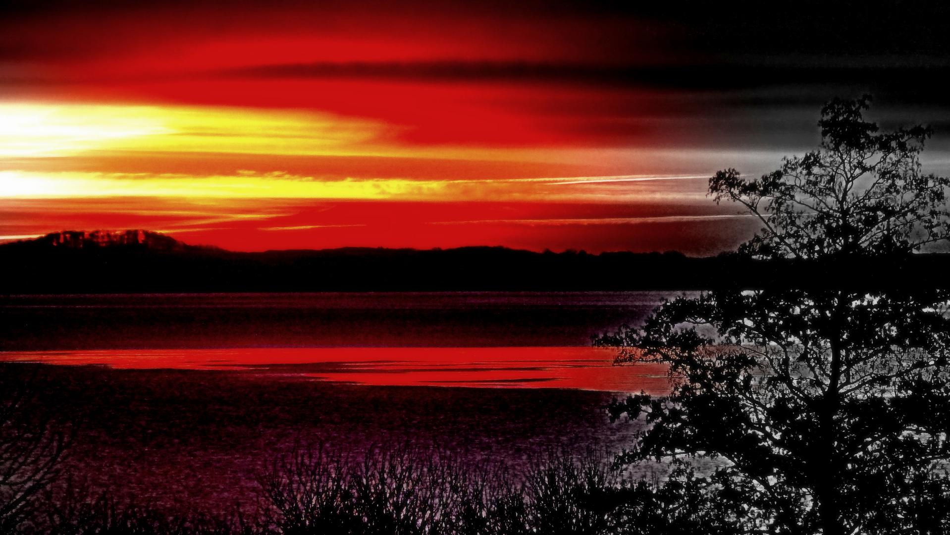Eingriff, vor Sonnenaufgang