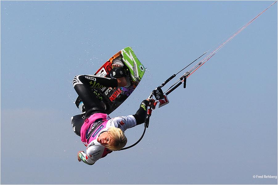 ... einhändig - Kitesurf World Cup 2011