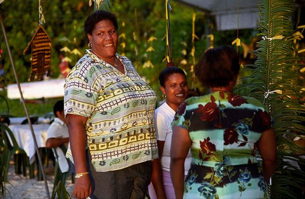 Einheimische am Festival Kreol auf La Digue