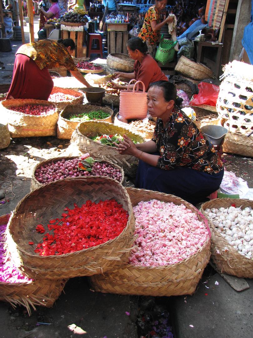 Einheimischen-Markt in Ubud (Bali)