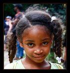 Einheimisches Mädchen