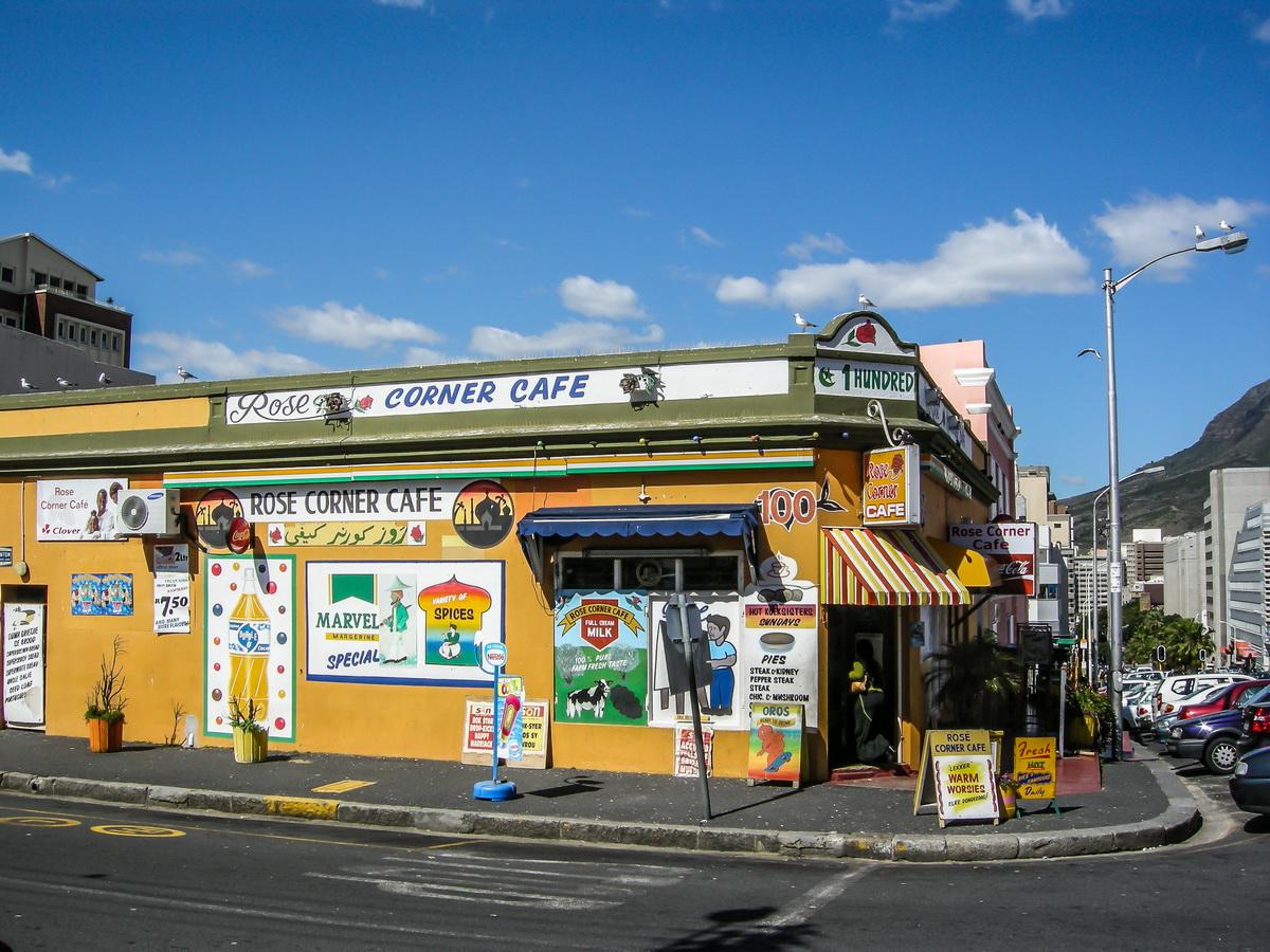 Einkauf in Kapstadt in den Straßen der Bo-Kaap