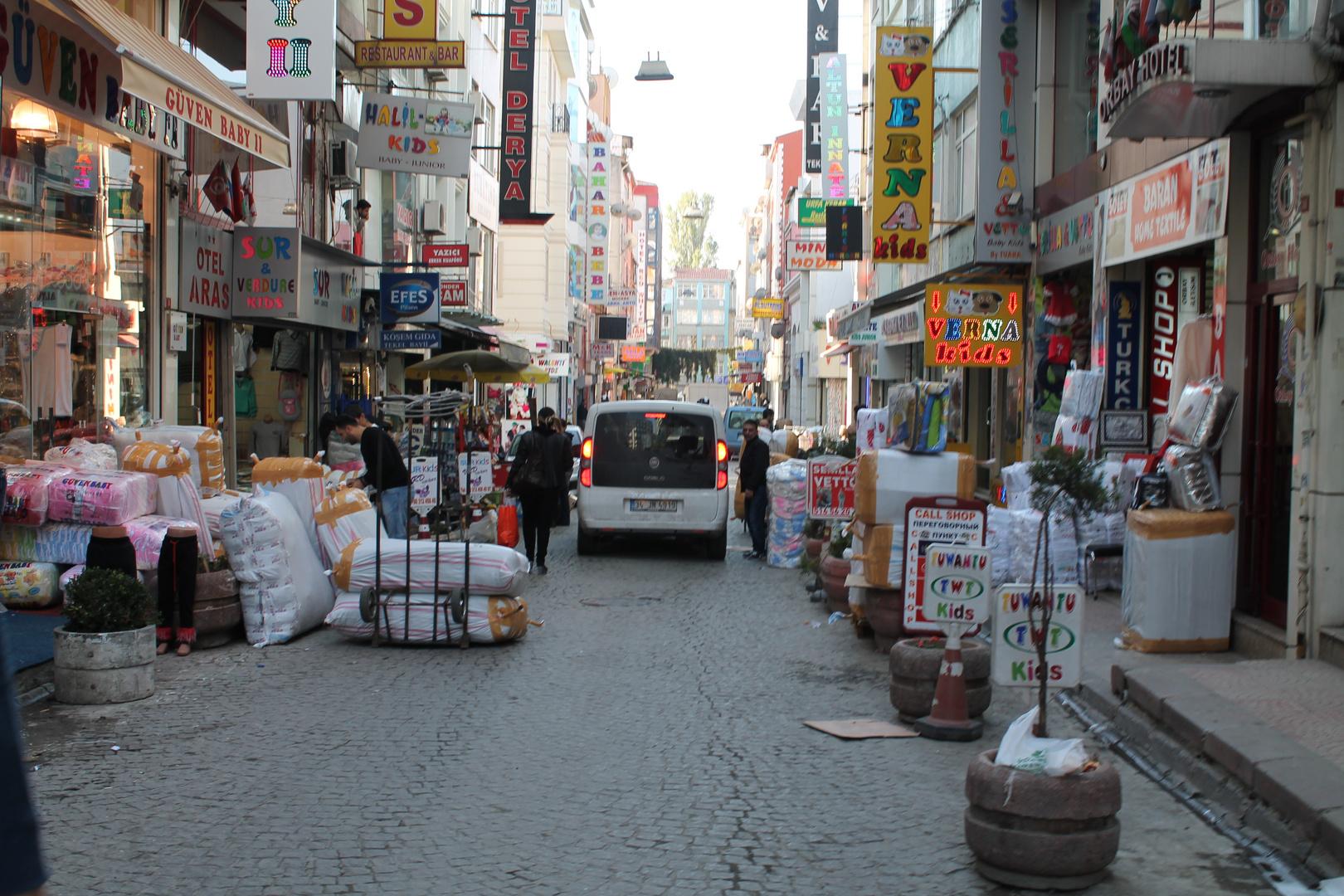 Einkauf Straße