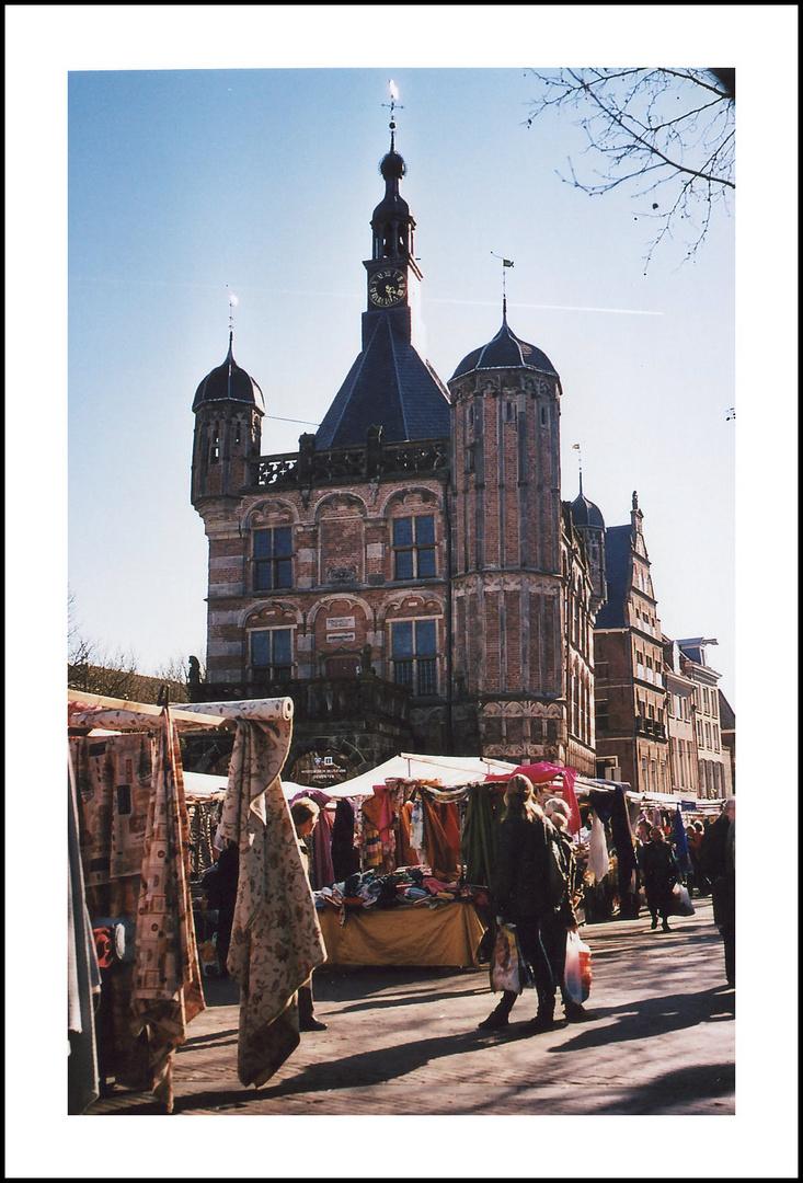 Einkaufen in Deventer/Nl.