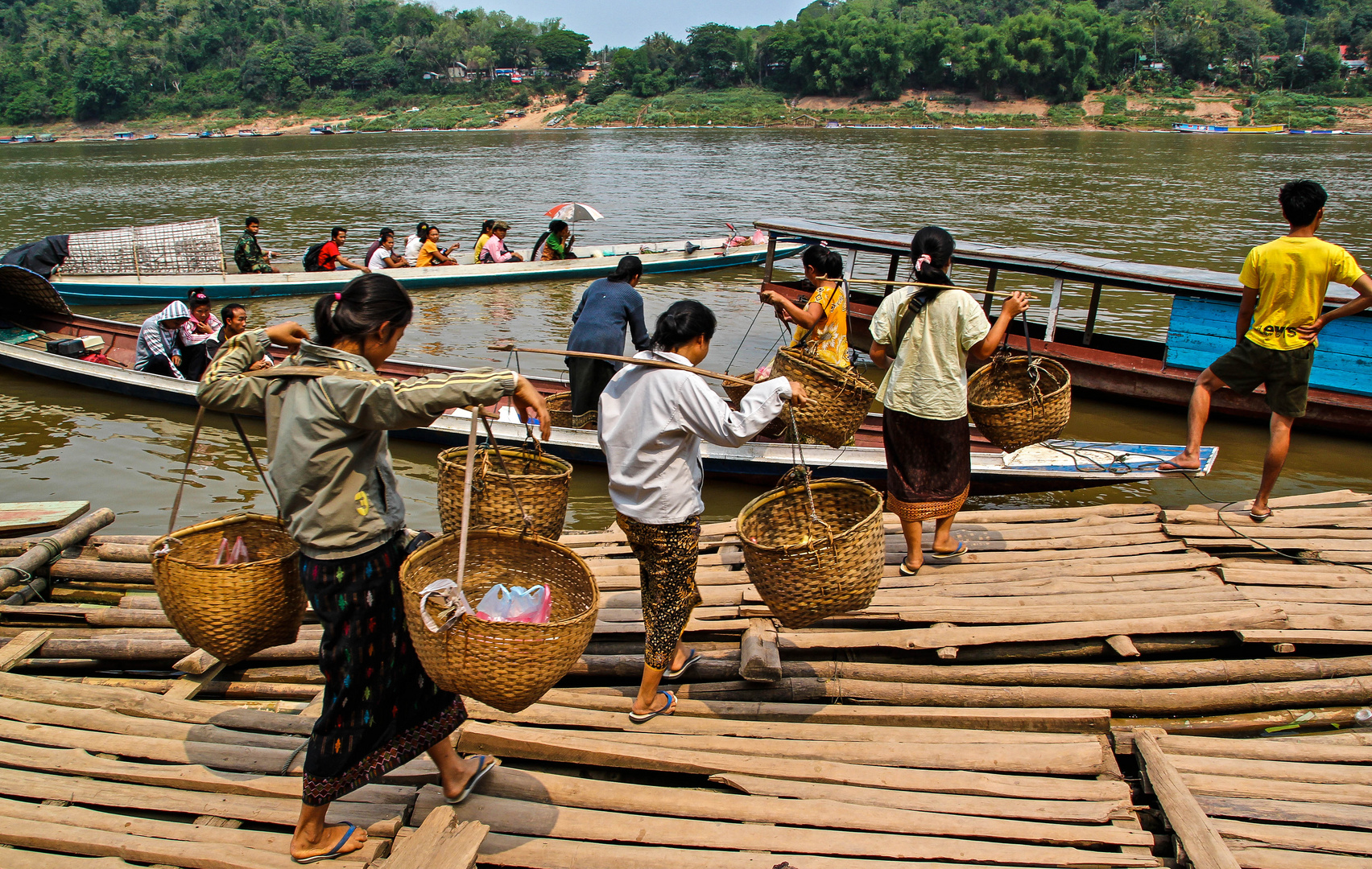 Einkaufen in Laos