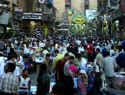 Einkaufsbummel in Kairo