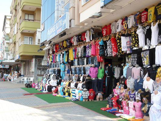 Einkaufsmeile in Alanya
