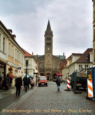 Einkaufsstraße in Potsdam