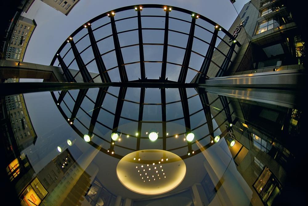 Einkaufszentrum in Gera