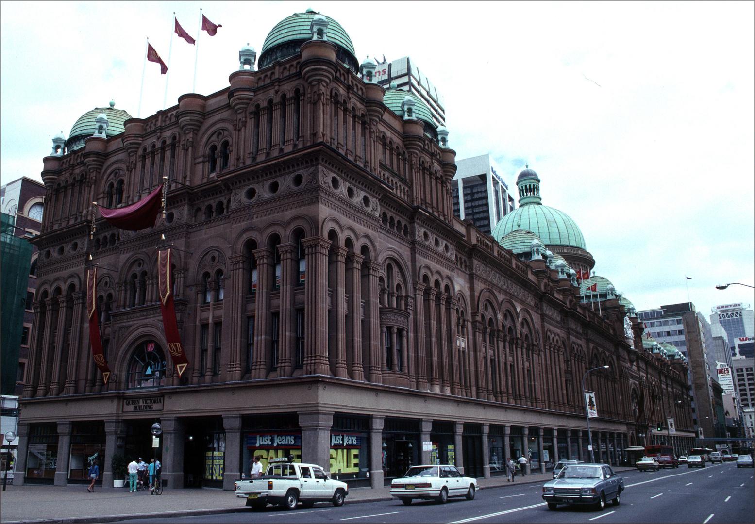 Einkaufszentrum in Sydney