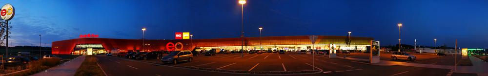 Einkaufszentrum Panorama