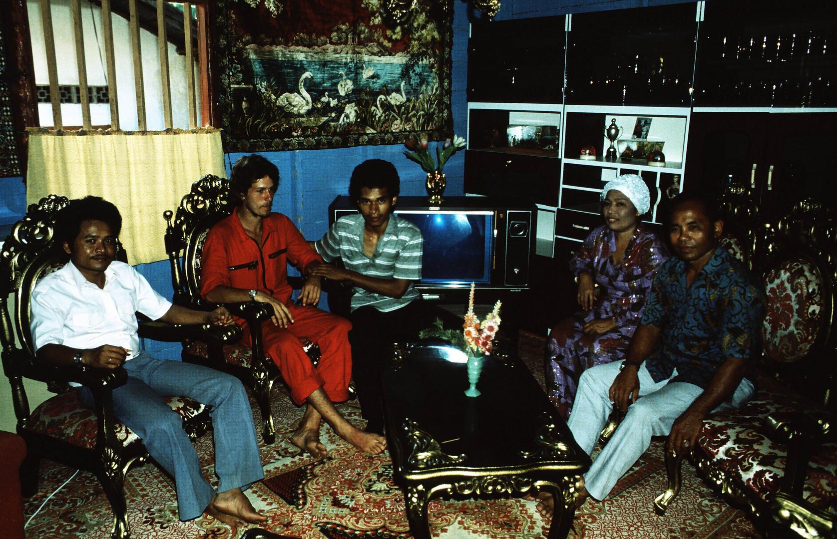 Einladung in Sumatra, 1984 (Reiche Familie)