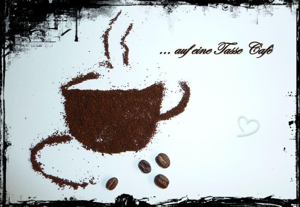 einladung zum cafè foto & bild   karten und kalender, cafe, foto, Einladung