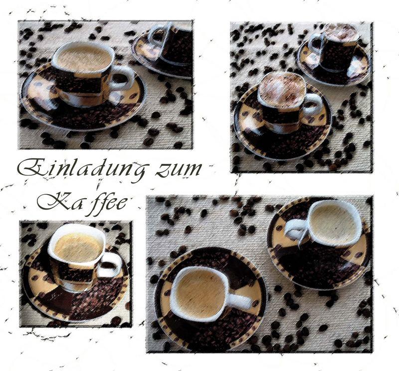 Einladung zum Kaffee...