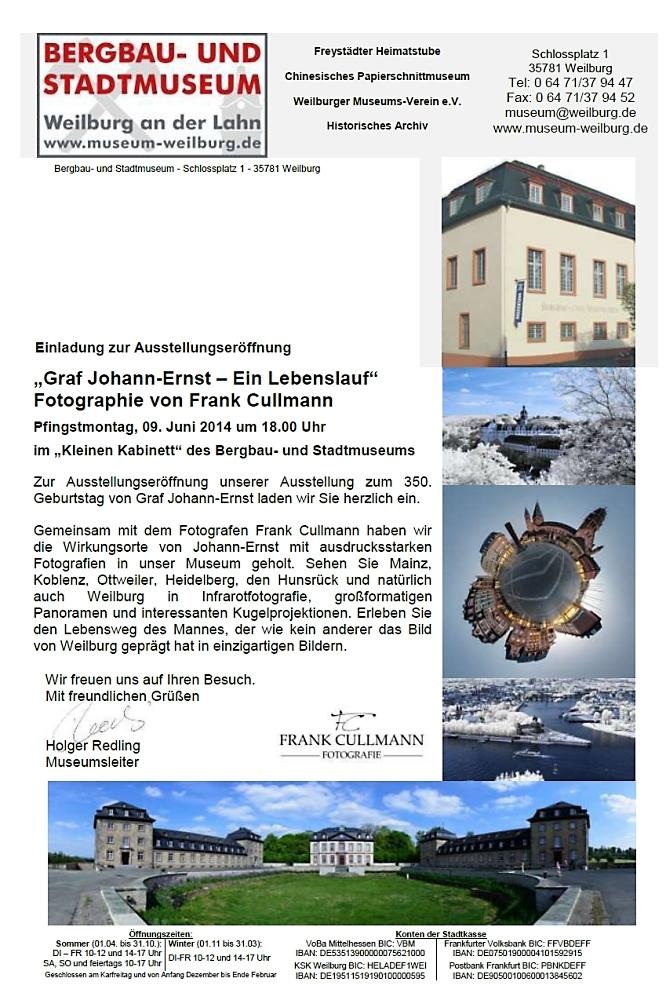 Einladung zur Ausstellung