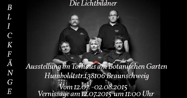 """Einladung zur Ausstellung """"Blickfänge"""""""