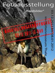 Einladung zur Ausstellungserööfnung im Hüttenmuseum Thale