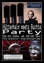 Einladung zur Hüttenhain meets Buchta - Party