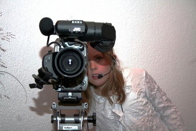 einmal die Kamera bedienen