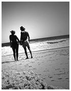 Einsam am Strand...
