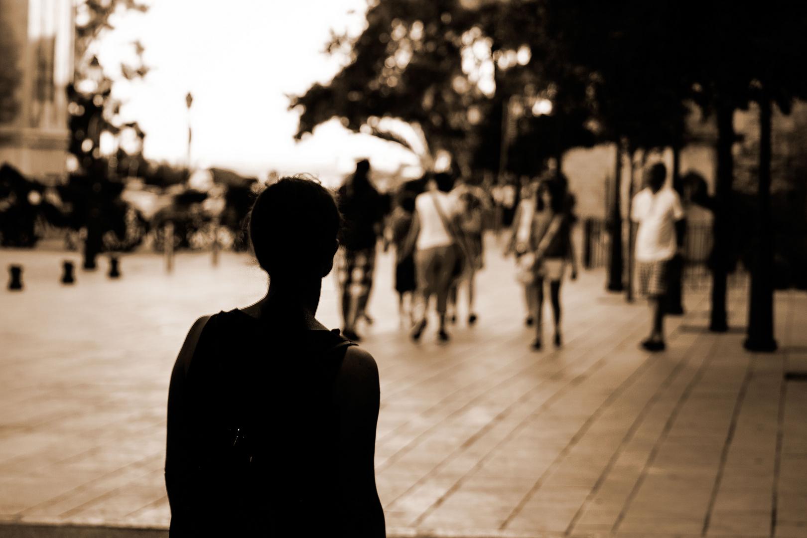Einsam in der großen Stadt