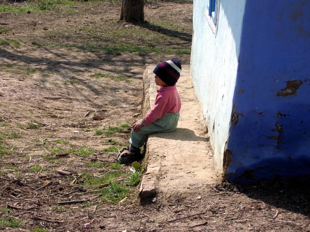 einsam in Rumänien