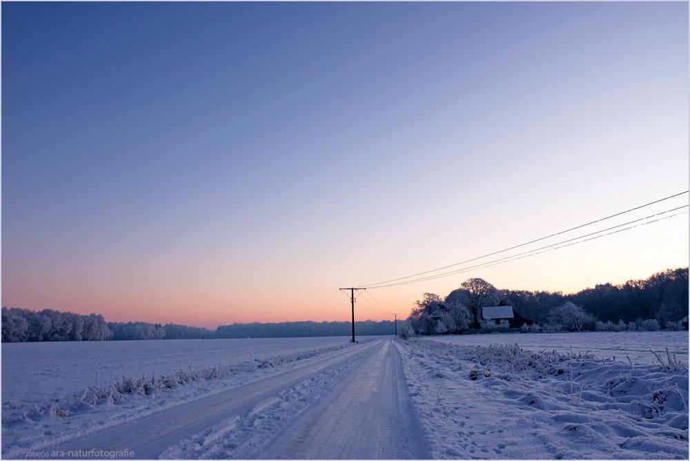 Einsam, weit und kalt ....