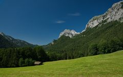 Einsame Berghütte