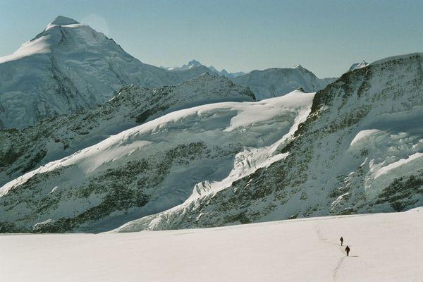 Einsame Bergwelt