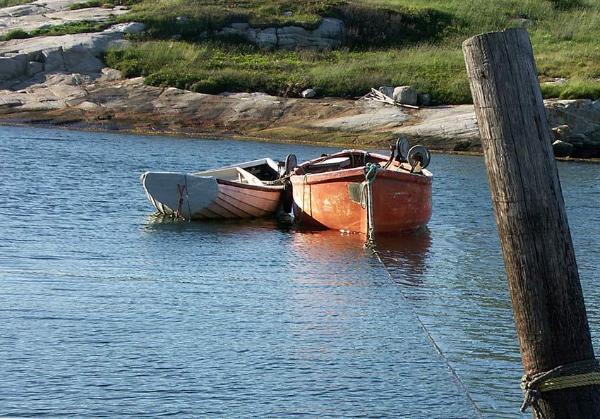 Einsame Boote