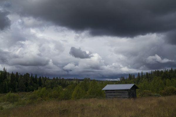 einsame Hütte...