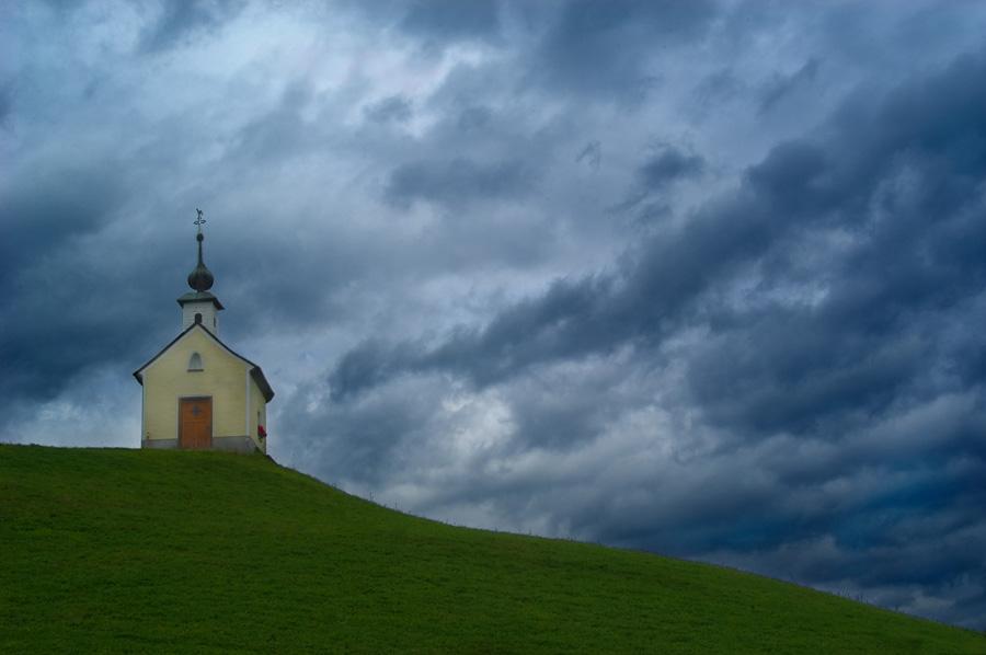 Einsame Kapelle
