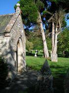 einsame Kirche in Musbury